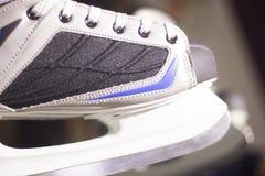 Ice skates in skate store Stock Images