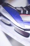 Ice skates in skate store Stock Image