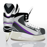 Ice skates - sports equipment Royalty Free Stock Images