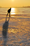 Ice skating Stock Photography