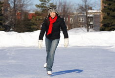 Ice Skating Stock Image