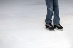 Ice skating child Stock Photography