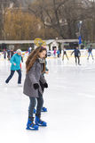 Ice skating Royalty Free Stock Image