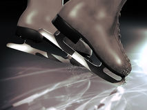 Ice skating Royalty Free Stock Image