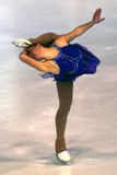 Ice skating figure Stock Photos