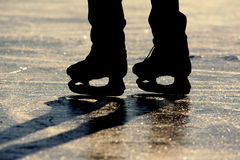 Ice Skating I royalty free stock photography