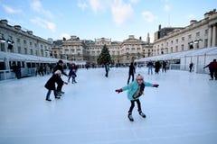 Ice skating Royalty Free Stock Photo