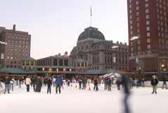 ice skating rink. Stock Photography