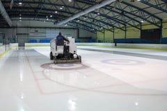 Ice skating rink Royalty Free Stock Photos