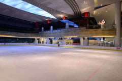 Ice-skating rink in shopping store in ShenZhen Royalty Free Stock Photography