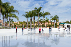 Ice skating in San Diego Stock Photos