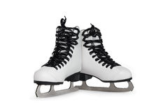 Ice Skating Shoes Royalty Free Stock Photos