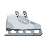 Ice Skating Shoes Royalty Free Stock Images