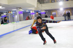Ice skating show Stock Photography