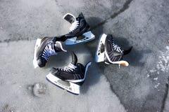 Ice skating Stock Image