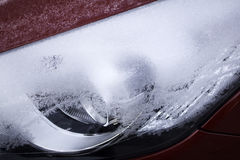 Ice Snow Car Royalty Free Stock Images