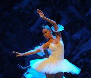 Ice and snow elves-The first act of fourth field snow Country  -The Ballet  Nutcracker Royalty Free Stock Photos
