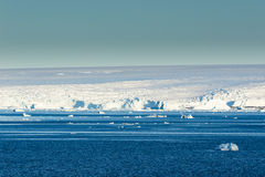 Ice and snow at Gerlache Strait Stock Photography