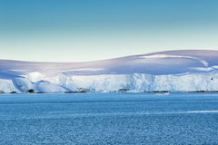 Ice and snow at Gerlache Strait Stock Photo