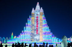 Ice snow world in harbin,2014 Stock Image
