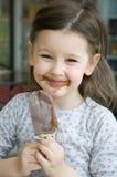 ice słodki śmietany Obraz Royalty Free