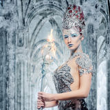 Ice sorceress Royalty Free Stock Photos