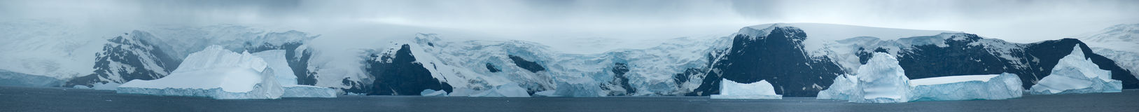 Ice South Orkney Islands. In Cloudy Day Royalty Free Stock Photography
