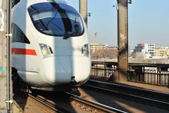 ICE super fast train  Stock Photo