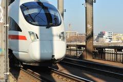 The ICE speed German train  Stock Photo