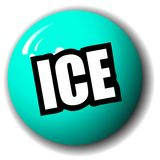 ICE Sphere Royalty Free Stock Images