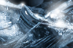 Ice Spike. Clear and sharp ice spike Royalty Free Stock Images