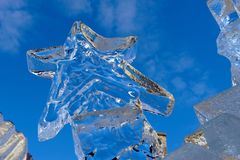 Ice star Royalty Free Stock Photography