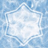 Ice star Royalty Free Stock Photo