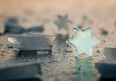 Ice star Stock Photos