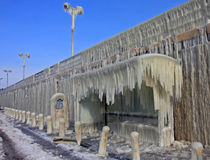 Ice Station Royalty Free Stock Photography