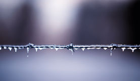 Ice and steel Stock Photo