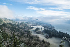 Ice storm in the Pacific Northwest Royalty Free Stock Photos