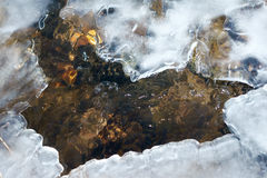 Ice stream Stock Photography