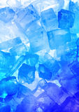 Ice - structure royalty free stock images