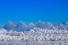 Ice on the sun Stock Photo