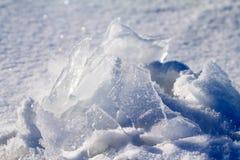 Ice on the sun Stock Image
