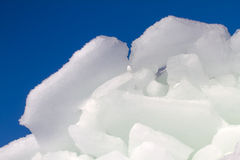 Ice on the sun Royalty Free Stock Images