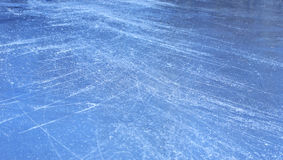 Ice surface Royalty Free Stock Images