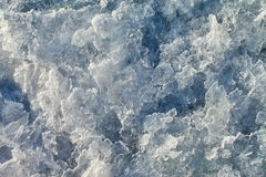 Ice surface. Stock Photos