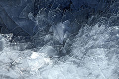 Ice surface Stock Photography