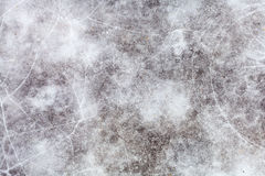 Ice surface of frozen pond in winter Royalty Free Stock Photo