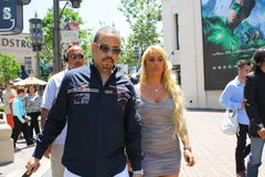 Ice T and Coco Stock Photography