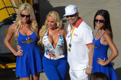Ice-T and Coco Indianapolis 500 2014 Stock Photography