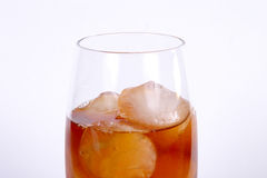 Ice Tea 5. A cool glass of ice tea on ice royalty free stock image
