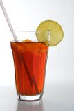 Ice tea. Glass of fresh icetea stock photography